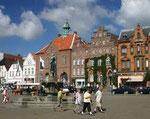 Marktplatz von Husum