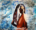 Porträt - Acryl - 50 X 60 cm