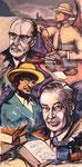 Die Röders, Maler und Schriftsteller
