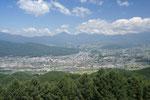 杖突峠から八ヶ岳方面