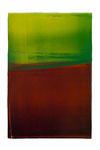 Engramm 95  2012  Acrylfarbe, Kunststoffsiegel, Ölfarbe auf MDF   30 x 20 cm