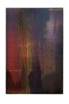 Fabric II  2008 Acrylfarbe, Kunststoffsiegel, Ölfarbe auf MDF   30 x 20 cm