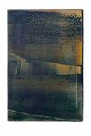 Engramm 8  2005  Acrylfarbe, Kunststoffsiegel, Ölfarbe auf MDF   30 x 20 cm