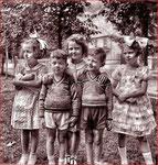 Suzanne, André, Aline, Jean-Claude, Margot