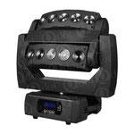 EYEBEAM:RGBW10WLEDx10 ピクセルマッピング/INFINITE PAN/TILT機能