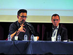 A. Castanheira, formateur en gestion positive des conflits à l'Université de Paix & Willy Lahaye