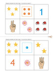 Eduquons ensemble les mathématiques avec Polo le lapin_Le loto des nombres_plateau de jeu