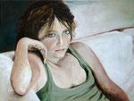 Sasha (huile sur toile 61X55 cm), Indisponible