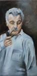 Georges  (huile sur toile 60X30 cm)