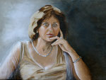 Emmanuelle 1 (huile sur toile 61X46 cm),  Indisponible
