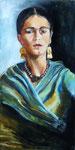 Frida  (huile sur toile 60X30 cm)
