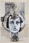 Vivian Maiers  2019, 35 X 51 , Mischtechnik auf Leinwand