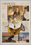 Wolfgang Wiese, 2015, 40 x 55, Gouache und Tempera auf Zeitungspapier