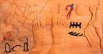2002 - DALLA Z ALLA A: PIEDI D'ARTISTA (cm 64 X 34)