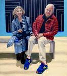 Roy & Diana at the Whitney