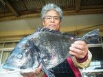 1月8日 冨岡 梅義さん ガバチヌ50.3㎝