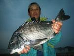 2月8日 磯釣りで谷田さん ガバチヌ52.7㎝