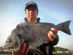 5月15日 磯釣りで内田さん 50㎝