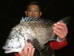 3月2日 磯からフカセ釣り 井上さん 50.5㎝を頭に3匹
