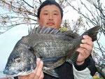 3月31日 磯からフカセ釣り 宮崎さん 50.4㎝