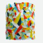Applique  mosaïque 4 verre - 18 cm x 21 cm - VENDU