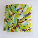 Applique  mosaïque 1 - 28 cm x 26 cm - VENDU