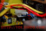 ШР подключения осциллятора к плате инвертора