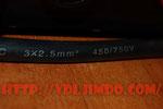 Провод питания сечением 2,5 мм