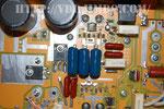 Плата ближе и конденсаторы Эпкос