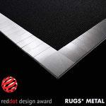 RUGS* Einfassband METAL, prämiert mit dem RED DOT Design Award 2009