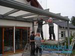 Verglasung Glasoase in Darmstadt