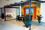 Weinor Terrassendach Terrazza in unserer Ausstellung