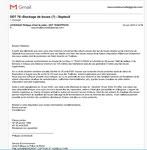 22 juin 2020 REPONSE DE LA DDT
