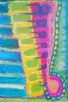 Titel: Wirbelenergie Acryl auf Papier