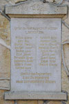 55 Luzy Saint Martin, Monument et cimetière militaire La Rotonde