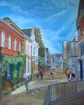 """""""Augustinessenstrasse"""" (80x100cm.) 2016"""