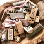 Holzanhänger, handgemacht von LiMi