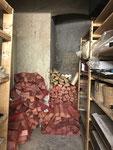 Kellerabteil Sanierung vorher