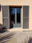 porte fenêtre 2 vantaux avec soubassement aluminium