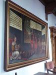 Schilderij 'Het Raadsel van Nijmegen' - Pauwels Jansz. van Schoten, 1619 - Schepenzaal Stadhuis Nijmegen