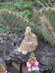 Mascotte au jardin - Bouquet de Flammes -
