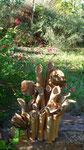 Au détour d'un jardin - Bouquet de Flammes -