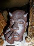 Sculpture - Caco 2016 -Grès cuisson four à bois Noborigama