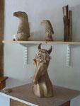 Sculptures et Vases - Caco et Sylvie -