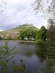 Staufener Burg und Stadtsee