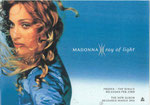 Madonna - Ray Of Light Rare Warner Windowsticker! 30X21