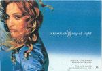 Madonna - Ray Of Light Rare Warner Windowsticker! 30X21