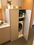 Praktisch und schön anzusehen, Waschmaschinenschrank