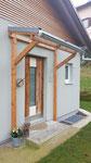 Vordach mit Glas