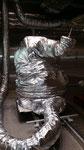 Housse pour Kuka kr 210 basse température -40°C + 80 °C chambre climatique